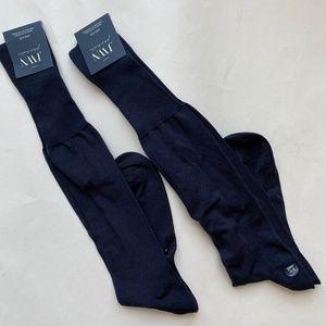 JWN John Nordstrom Mens Dress Socks Over The Calf